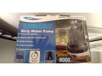 lotus trident dirty water pump powerful 8000 for koi and garden ponds