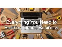 Learn How To Create A Website Online And Email Marketing - Build Your Own Business