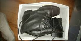 Mens military style dress boots sz 10