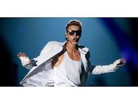 x2 VIP Justin Bieber Tickets - At the O2 - 29th November