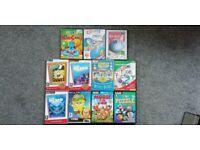 11 x PC Software Titles for Children - Joblot (Including Spongebob)