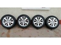 """Volkswagen VW 16"""" Alloy Wheels & tyres"""