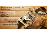 Handyman Gardener for Glasgow and near areas