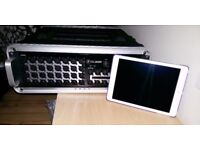 Mackie DL32R 32 Channel digital mixer, with 16GB iPad Air and wireless router