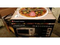 Russell Hobbs 30L Digital Combination Microwave with Grill & Convection, 900W - Stainless Steel