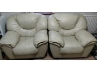 3 seater + 1 seater + 1 seater sofa for collection - free