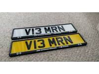 V 13MRN - Imran Private Number Plate