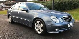Mercedes E320 Avantgarde**FULL YEARS MOT**