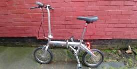 Folding city bike