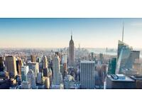 Holiday to New York 10/12/16 til 16/12/16 for 2 people plus extras