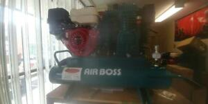 ABWB-9C Airboss 9hp Wheelbarrow Style Air Compressor-IN STOCK!!!
