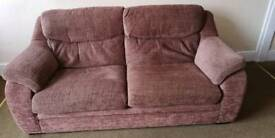 Couch and arm chair reduced