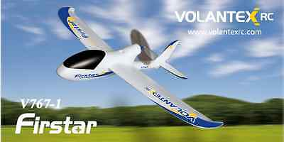 2.4Ghz 3-Ch Radio Remote Control Airplane Firstar Trainer R/C RTF EPO