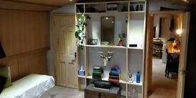 Boat - Double Ensuite Room in large widebeam canal boat including bills