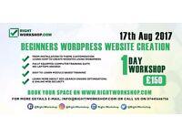 1 DAY WORDPRESS WEBSITE CREATION WORKSHOP