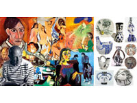Picasso Ceramics, Paintings, Art and Drawings Wanted