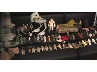 Vintage and modern Star Wars toys sets and figures wanted