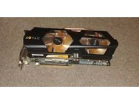 Graphic video card Geforce GTX 670