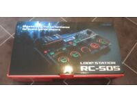 Brand new, Boss RC-505 Loop Station, never used, with full Roland UK warranty