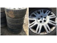 "Ford Mondeo 205/50/17"" Alloy Wheels and Tyres Set Of Four"