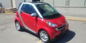 2010 smart fortwo passion 68$/semaine