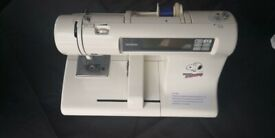 Brother PE 200 Embroidery Machine with Cover