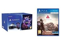 PlayStation VR starter bundle + camera and 2 games