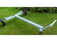 Launching Trolley for Boat Dinghy Tender