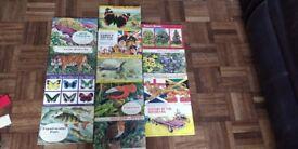 1960's Brooke Bond Tea Picture Cards (13 books)