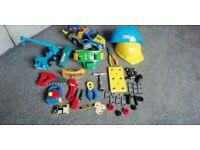 Joblot Bundle - Various Building Toys (Includes Bob the Builder Lofty & Tonka Truck)