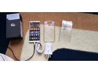 LG G6 H870DS Dual Sim 64GB LTE Factory Unlocked Phone ( White ) RARE HiFi Quad DAC