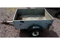 SMALL GALVANISED TRAILER 4X3FT