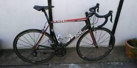 Road Bike - Full Carbon Fibre - Mavic Ksyrium Elite wheels