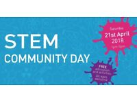 STEM Community Day | Saturday 21st April 2018 | Free admission and activities