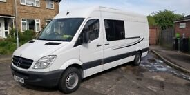 mercedes sprinter LWB CAMPERVAN