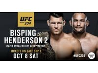 2 tickets for UFC 204 (BL 104, lower tier)