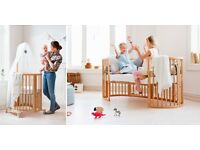 Stokee Sleepi Oval Crib That Grows With Your Baby