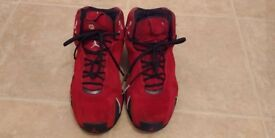 Jordan XXI Uk size 8 varsity red