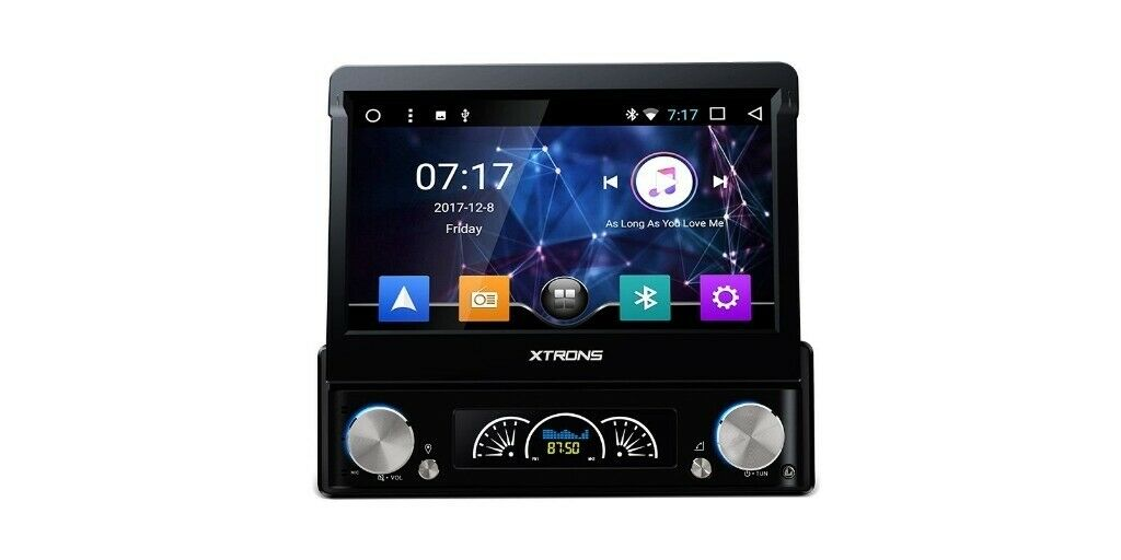 7 Inch Flip Out HD Android Car Audio GPS Bluetooth Car