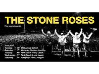 2 x stone roses tickets Wembley