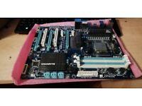 GA-990XA-UD3 motherboard with Athlon ll CPU 2GB DDR3 and GTX645 grapics card