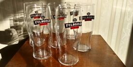 6 x Brand New in Box Felsgold Cider Tulip Tumblers Pint Glasses