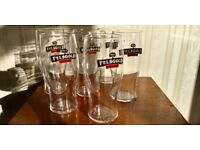 6 x Brand New in Box Felsgold Cider Tulip Tumblers Pint Glasses