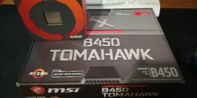 AMD Ryzen 2600X + MSI Tomahawk B450 | in Enfield, London | Gumtree