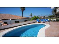 Canarian Style 2 bedroom villa with pool Amarilla Golf Tenerife