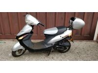 MOPED 06 Baotian Scooter Silver £499
