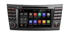 "7"" Android 5.1 Lollipop Car DVD Player USB AUX BT GPS Screen Mirroring for Mercedes-Benz E Class"