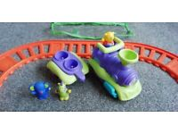 Bruin Childs Motorised Train Set with characters
