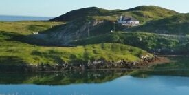 Western Isles of Scotland: Scalpay, Harris cosy furnished cottage to let long-term