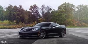 NEW 19X8.5 & 20X10.5 RIMS FOR CHEVROLET CORVETTE---4 NEW RIMS $1199 + HST----TIRE PACKAGES LISTED!!